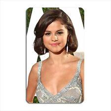 Selena Gomez Cute Photo Fridge / Toolbox Magnet - sexy star celebrity foto