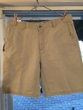Columbia Mens Shorts 36 Khaki/Stone EUC