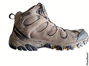 "Merrell Men's Hiking Boots Granite ""Hilltop Ventilator"" Leather/Mesh Size 9.5 M"