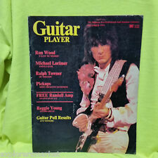 RON WOOD THE ROLLING STONES GUITAR PLAYER MAGAZINE RALPH TOWNER December 1975