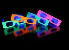 100 Fireworks Diffraction Glasses (Glow Under Black Light Exposure) + 2 Pair