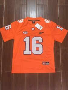 Trevor Lawrence Orange Jersey Size Small - 2XL