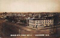 C16/ Larimore North Dakota ND Real Photo RPPC Postcard 1909 Swain House Homes