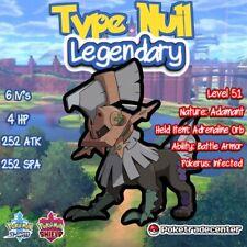 Pokemon Sword And Shield Type-Null 6iv/Pokerus/Legendary/Legal