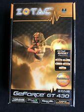 ZOTAC NVIDIA GeForce GT 430 Zone Edition 1GB DDR3 Grafikkarte NEU in OVP