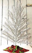 "60s Vintage SPLENDOR Aluminum Christmas Tree~ 6.5"" Tall Curled & Twisted Branch"