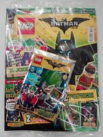 LEGO BATMAN THE MOVIE - MAGAZINE #2 ITALIANO + POLYBAG JOKER - LIMITED EDITION