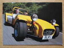 CATERHAM SUPERLIGHT R500 orig UK Mkt Factory Issued Postcard - brochure related