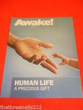 AWAKE! - HUMAN LIFE A PRECIOUS GIFT - MAY 2011