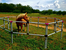 FREE SHIPPING! PORTABLE HORSE CORRAL  Corrals-Panels-Pens USA made! Box Set