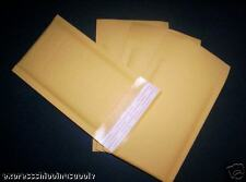 200 4 X 7 Kraft Bubble Mailers Envelopes 000 4x7 Kraft Mailing Airjackets