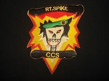RT SPIKE CCS MACV-SOG 5th Special Forces Group - Vietnam War Patch (Variation)