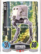 Force ATTAX Movie Card-tie-Fighter de Dark vador #046