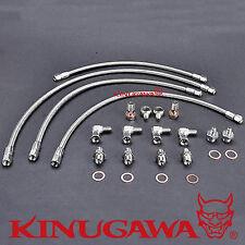 Kinugawa Turbo Water Line Kit Nissan R32 R33 RB26DETT GT-R w/ Garrett GT25R GT28