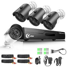 Xvim Hd 1080N 4Ch Hdmi Dvr 1500Tvl Ir Outdoor Cctv Home Security Camera System