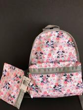 Disney LeSportsac Spring Fling Mickey Minnie Mouse Basic Backpack NWT $118 #7812