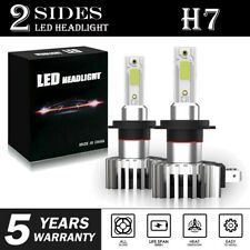 H7 LED Headlight Bulbs Conversion Kit Hi/Lo Beam 2200W 330000LM Super Bright