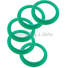 5 PCS New Hot Silicone Rings For Nespresso Machine Refillable Reusable Stainless