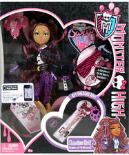 "Monster High Sweet 1600 CLAWDEEN WOLF 10.5"" doll fashion birthday Werewolf app"