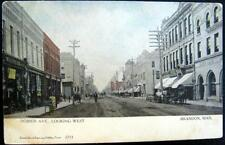 CANADA~1900's BRANDON MAN. ~ ROSSER AVENUE ~ WARNER'S BOOK STORE & More !