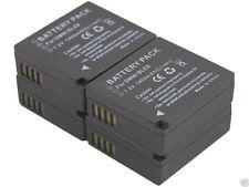 new 4x DMW-BLE9 BLG10e Battery + Dual Charger for DMC-GF5 GX7 GF3CT GF3KR GF5C