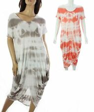 Viscose Boho, Hippie Scoop Neck Casual Dresses for Women
