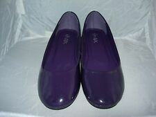 CHIX lt Purple c pat flat heel shoes 5/6 uk or 38/39 euro casual,party,work,new