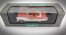 Vintage Vitesse Orange And White 1956 Ford Fairlane Convertible - Scale 1:47