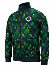 Nike Nigeria 2020 - 2021 Anthem Line Up  Soccer Jacket Brand New Forest Green
