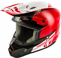 Fly Racing Kinetic Sharp Helmet / Red/Black - All Sizes