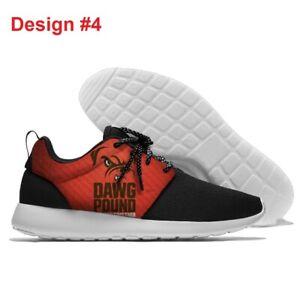 CLEVELAND BROWNS Lightweight Shoes Men's Women's Sneakers Footbal Team Logo NEW