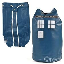 New Doctor Who TARDIS Duffle Bag Gym Back To School Rucksack Backpack Official