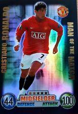 MAN OF THE MATCH ATTAX 07/08 - MOTM - CRISTIANO RONALDO MANCHESTER United