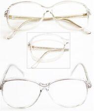"Reading Glasses ""SOPHIA"" Bifocal Classic Oval Frame Polished GRAY +1.00 Lens"