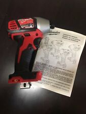 """NEW!! Milwaukee 2656-20 M18 1/4""""  Hex Impact Driver TOOL ONLY!!!"""