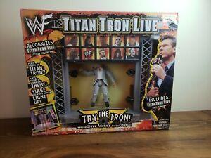 Jakks Pacific WWF Titan Tron Live Includes Vince McMahon RARE (1999) WWE AEW XPW