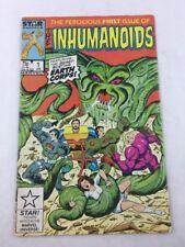 Inhumanoids Vol 1 No 1 Jan 1987 Marvel Star  Comic Book
