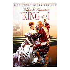 The King and I (1956) DVD - Walter Lang, Yul Brynner, Deborah Kerr (*New Sealed)