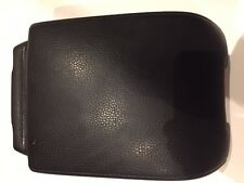 volvo xc90 center console arm rest wo/dvd player wo/frame OEM NICE BLACK RARE