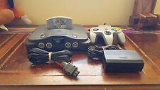 Nintendo 64 Charcoal Grey Console (NTSC) + Super Mario 64