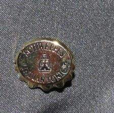 "B9 PIN SCHWEPPES INDIAN TONIC CAP PINS RARE 0.5"" ARTHUS BERTRAND PARIS LOGO"