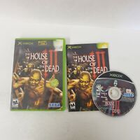 House of the Dead III 3 Microsoft Xbox Game Sega Rare and OOP!!! Fast Shipping
