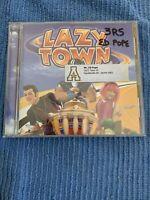 Lazytown by Original Soundtrack (CD, Aug-2005, Nick Records) K-3