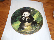 1988 Bradex - The Panda - Collectible Plate - Nelson - Endangered Species