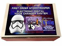 2020 FIRST ORDER STAR WARS STORMTROOPER HELMET VOICE CHANGER BASE KIT  - COSTUME