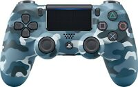 Blue Camouflage PS4 Wireless Controller DualShock for Sony PlayStation 4