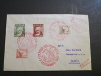 Spain 1947 Camp De Criptana Cover to Madrid - Z3611