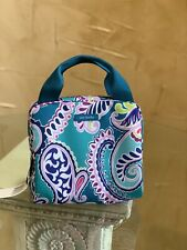 NWT Vera Bradley Lunch Cooler Insulated Bag ~ Waikiki paisley ~