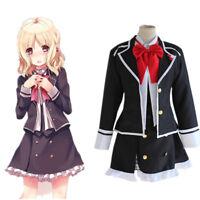 Hot Sell!!! DIABOLIK LOVERS Komori Yui School Uniform Cosplay Costume Full Set