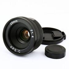 25mm CCTV C Mount CCTV Objektiv körper für APS-C sensor kamera EOS M NEX FX M4/3